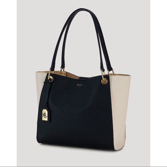 RALPH LAUREN Aiden North South Tote 7fbf1af8d2e17